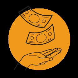 lilla toscana växthotell illustration betalning