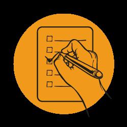 illustration checklista lilla toscana växthotell